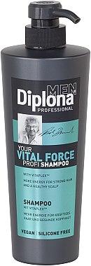 Энергетический шампунь для мужчин - Diplona Professional Vital Force Shampoo For Men