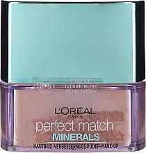 Духи, Парфюмерия, косметика Минеральная пудра для лица - L'Oreal Paris Perfect Match Minerals Make-Up Powder