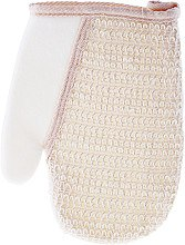 Духи, Парфюмерия, косметика Мочалка-рукавица для душа 1956, со вставкой из сизаля - Top Choice Wash Sponge