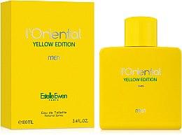 Духи, Парфюмерия, косметика Estelle Ewen L'Oriental Yellow Edition Men - Туалетная вода