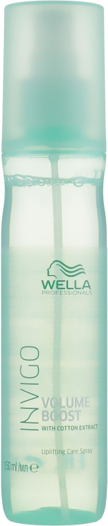 Спрей-уход для прикорневого объема - Wella Professionals Invigo Volume Boost Uplifting Care Spray