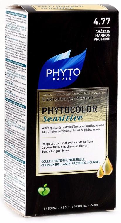 Стойкая безаммиачная краска для волос - Phyto Phytocolor Sensitive Coloration Permanente