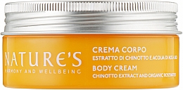 Духи, Парфюмерия, косметика Крем для тела - Nature's Chinotto Rosa Body Cream