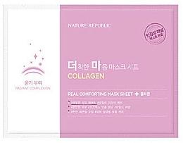 Духи, Парфюмерия, косметика Тканевая маска с коллагеном - Nature Republic Real Comforting Mask Sheet Collagen