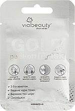 Духи, Парфюмерия, косметика Очищающая маска-пленка с биозолотом - Via Beauty Gold Mask