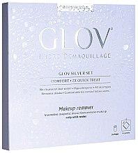 Духи, Парфюмерия, косметика Рукавичка для снятия макияжа - Glov Hydro Demaquillage Silver Set
