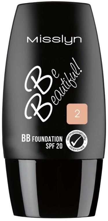 Тональный крем для лица - Misslyn Be Beautiful BB Foundation SPF20