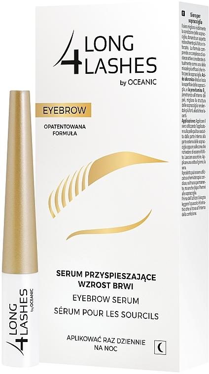 Сыворотка для бровей - Long4Nails Eyebrow Enhancing Serum