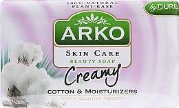 Парфумерія, косметика Мило - Arko Beauty Soap Creamy Cotton & Cream