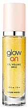 Духи, Парфюмерия, косметика База под макияж с эффектом стробинга - Etude House Glow On Base Oil Volume