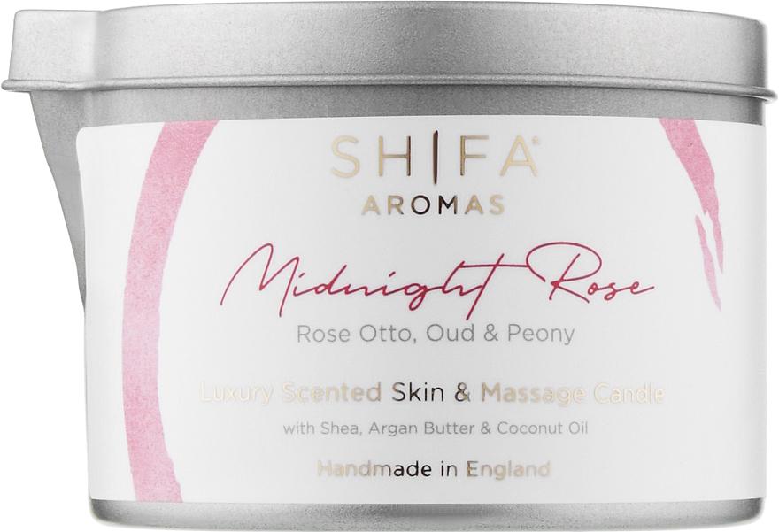 """Массажная свеча """"Ночная роза"""" - Shifa Aromas Massage Candle Midnight Rose"""