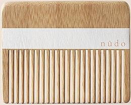 Духи, Парфюмерия, косметика Бамбуковая расческа для волос - Nudo Nature Made Bamboo Comb