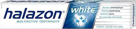 Отбеливающая зубная паста - Halazon Multiactive White