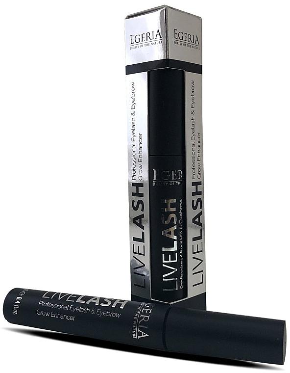 Сыворотка для бровей и ресниц - Egeria Livelash Eyelash & Eyebrow Grow Enhancer
