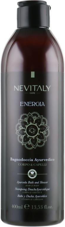 Аюрведическое очищающее средство для тела, лица и волос - Nevitaly Energia Ayurveda Bath&Shower