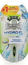 Духи, Парфюмерия, косметика Станок для бритья + 2 сменных лезвия - Wilkinson Sword Hydro 5 Sensitive