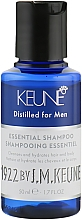 """Духи, Парфюмерия, косметика Шампунь для мужчин """"Основной Уход"""" - Keune 1922 Shampoo Essential Distilled For Men Travel Size"""