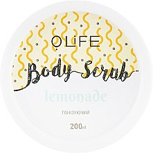"Духи, Парфюмерия, косметика Скраб для тела ""Лимонад"" - Organic Life Body Scrub Lemonade"