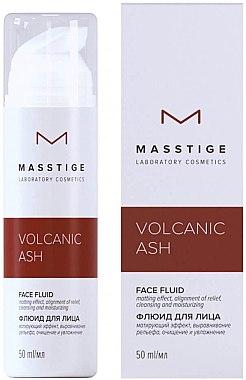Флюид для лица - Masstige Volcanic Ash Face Fluid