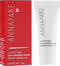 Духи, Парфюмерия, косметика Крем укрепляющий против морщин - Annayake Ultratime Anti-Wrinkle Re-Densifying Cream (пробник)