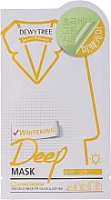 Духи, Парфюмерия, косметика Отбеливающая маска с лимонной травой для лица - Dewytree Whitening Deep Mask