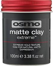 Духи, Парфюмерия, косметика Клей-воск экстрим - Osmo Extreme Matte Clay