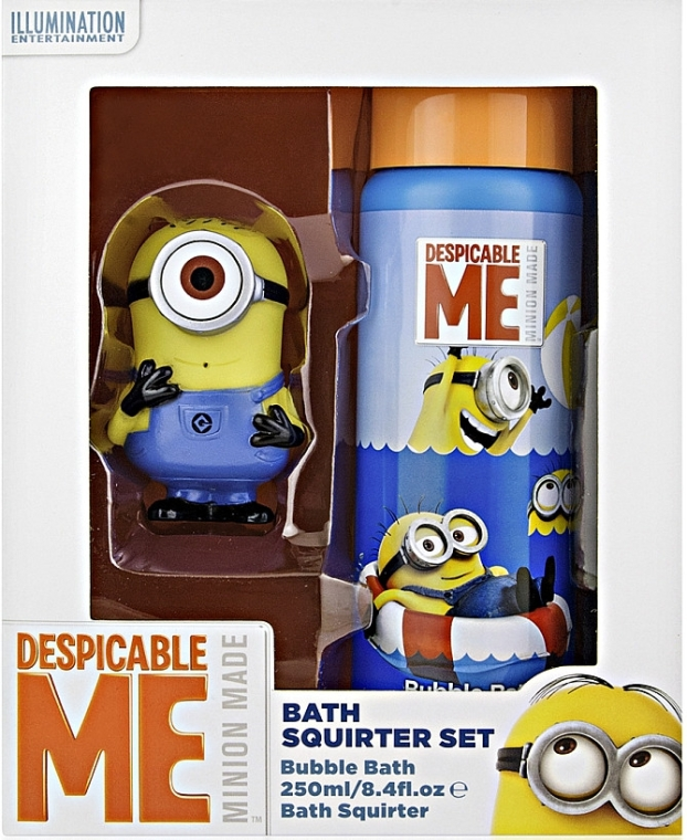Набор - Corsair Despicable Me (bath/f/250ml + toy)