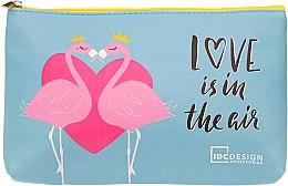 Духи, Парфюмерия, косметика Косметичка с принтом, Love is in the gir - IDC Institute Design Accessories Cosmetig Bag