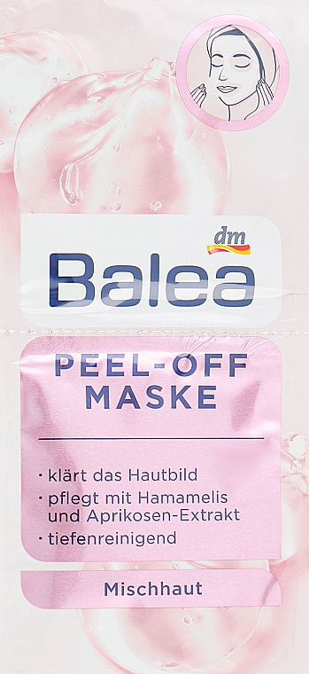 """Маска для лица """"Глубокое очищение"""" - Balea Deep Cleansing Face Mask"""