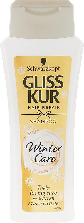 """Шампунь для волос """"Зимний уход"""" - Gliss Kur Winter Care Shampoo"""
