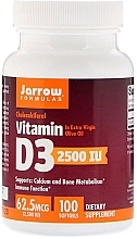 Духи, Парфюмерия, косметика Холекальциферол Витамин D3 - Jarrow Formulas Cholecalciferol Vitamin D3 2500 IU