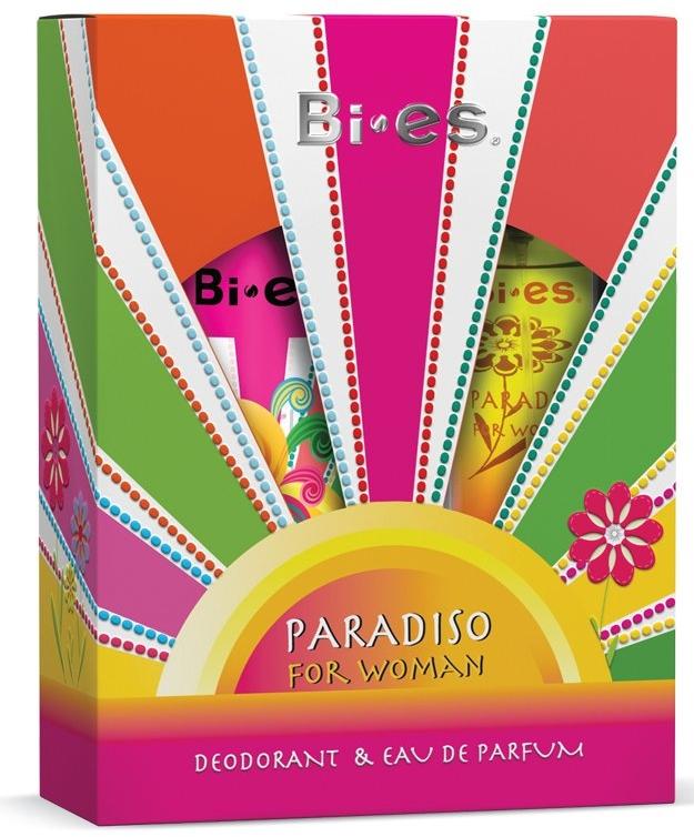 Bi-Es Paradiso - Набор (edp/50ml + deo/150ml)