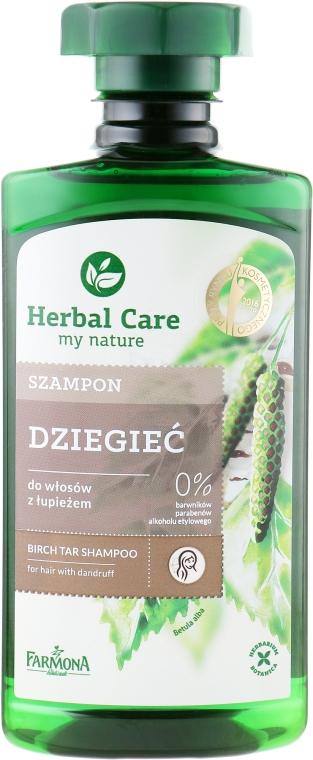 "Шампунь для волос ""Березово-Дегтярный"" - Farmona Herbal Care Shampoo"