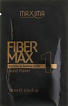 Духи, Парфюмерия, косметика Сыворотка для волос для кератинового выравнивания волос этап 1 Fiber Max - Maxima