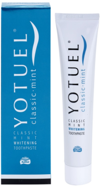 Отбеливающая зубная паста - Yotuel Classic Mint Whitening Toothpaste
