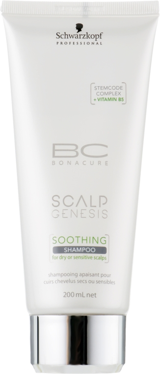 Успокаивающий шампунь для чувствительной кожи головы - Schwarzkopf Professional BC Scalp Genesis Soothing Shampoo