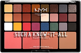 Духи, Парфюмерия, косметика Палетка для макияжа - NYX Professional Makeup Such A Know-It-All Eyeshadow, Blusher & Contour Palette
