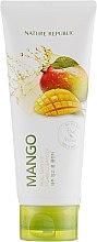 Духи, Парфюмерия, косметика Пенка для умывания с экстрактом манго - Nature Republic Real Nature Mango Foam Cleanser