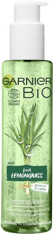 Детокс-гель для умывания с экстрактом лемонграсса - Garnier Bio Fresh Lemongrass Detox Gel Wash
