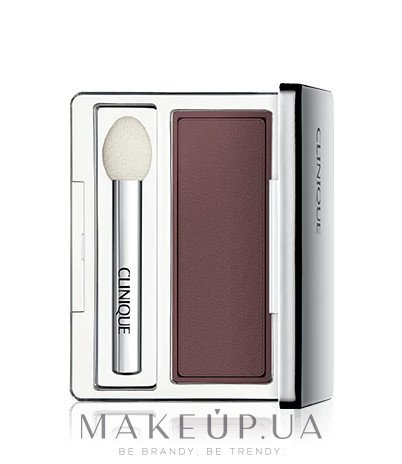 Тени для век - Clinique All About Shadow Singles Soft Matte — фото Chocolate Covered Cherry