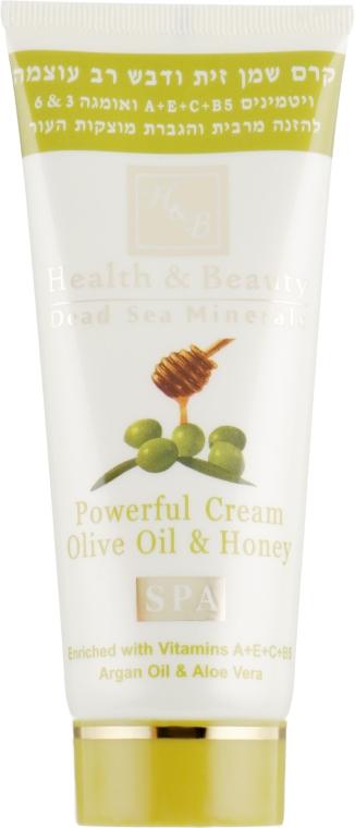 """Многофункциональный крем """"Оливковое масло и Мед"""" - Health And Beauty Powerful Cream Olive Oil and Honey"""