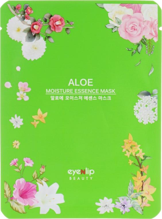 Тканевая маска для лица увлажняющая с алоэ - Eyenlip Aloe Moisture Essence Mask