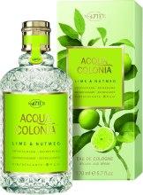 Духи, Парфюмерия, косметика Maurer & Wirtz 4711 Aqua Colognia Lime & Nutmeg - Одеколон