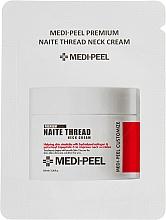 Духи, Парфюмерия, косметика Пептидный крем для шеи и декольте - Medi Peel Naite Thread Neck Cream (пробник)