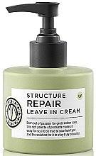 Духи, Парфюмерия, косметика Крем для волос - Maria Nila Structure Repair Leave In Cream
