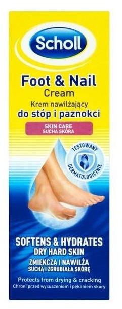 Крем для ног и ногтей - Scholl Moisturizing Foot and Nail Cream