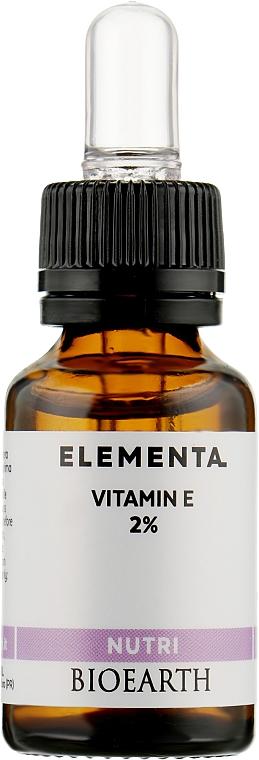 Питательная сыворотка - Bioearth Elementa Nutri Vitamin E 2%