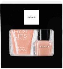 Духи, Парфюмерия, косметика Подарочный набор - Zoya So Delightful (nail/7.5ml + Lip/Balm/12g)