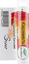 """Духи, Парфюмерия, косметика Натуральный бальзам для губ """"Карамель"""" - Swan Lip Balm"""