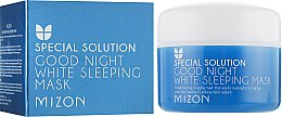 Духи, Парфюмерия, косметика Ночная осветляющая маска с лавандой для лица - Mizon Good Night White Sleeping Mask